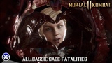 Mortal Kombat 11 - All Cassie Cage's Fatalities