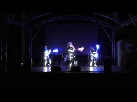 20181104 4K ДЖИвТК2018 Театр Стихия Световое шоу Бионика