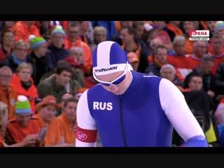 Руслан Мурашов 500м - 34.75 и Павел Кулижников 500м - 34.74