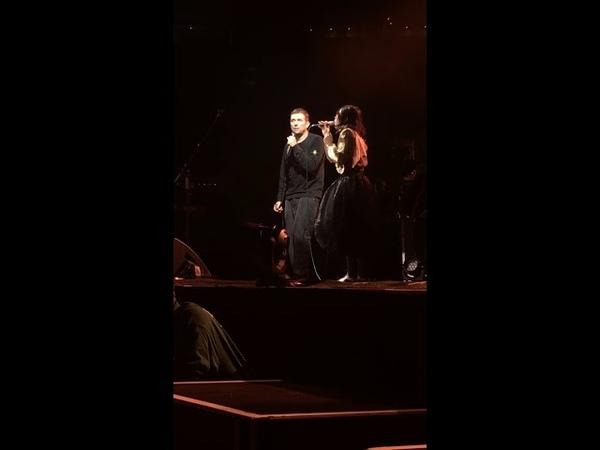 Gorillaz-To Binge feat_Little Dragon_TD Garden, Boston, October 14, 2018