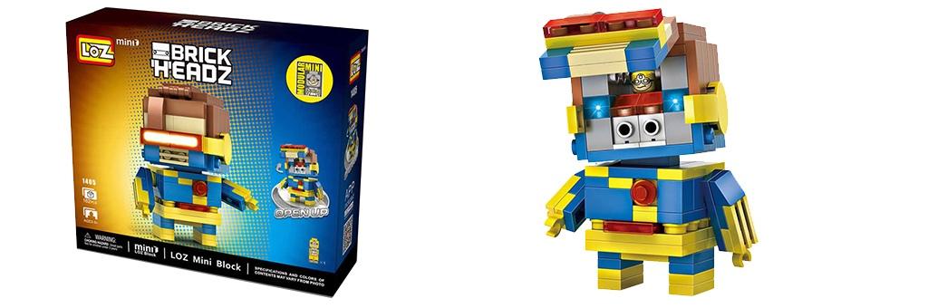 "Конструктор LOZ BrickHeadz ""Циклоп"" 1405"