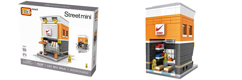 """Конструктор LOZ Street Mini """"Магазин Nike"""" 1604"""