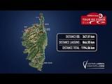 CORSICA linea - Tour de Corse 2019 Le parcours