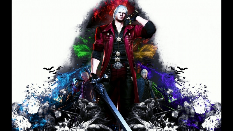 Играю в Devil May Cry - В ход идёт Данте
