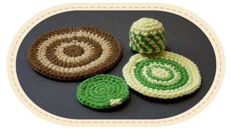 Смена цвета пряжи при вязании крючком ч1 Change Yarn Color in Crochet p1