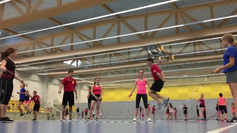 Prague Summer Jump Rope Camp 2017 DAY 3