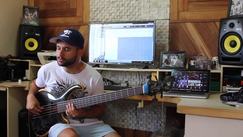 Junior Braguinha - Mayones bass solo
