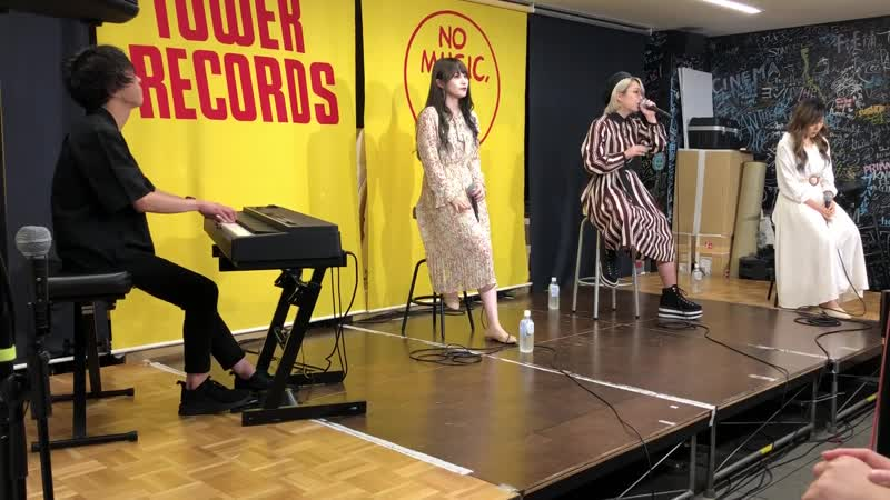 Wagamama Rakia - Melody (Piano bansou) (Live at the release event in Tower Record Namba) (2019.07.08)