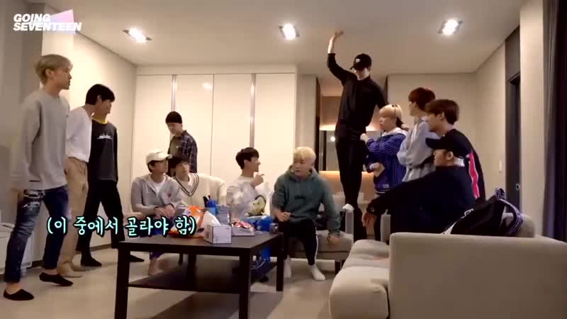 Look at hoshi trying to hug woozi in the end but got rejected 😂