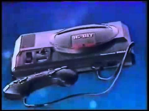 Japanese Sega Mega Drive Commercial (Sega Genesis) - Retro Video Game Commercial Ad