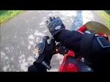 МОТОПОКАТУШКА на китайском мотоцикле под ганвест и так далее )