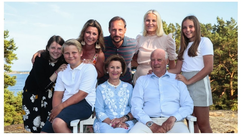 NORWEGIAN Royal FAMILY || SUMMER PHOTOS 2018