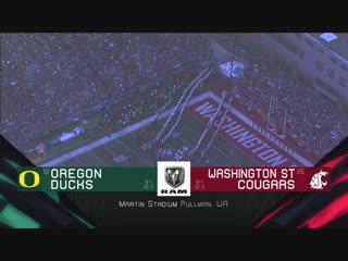 NCAAF 2018 / Week 08 / (12) Oregon Ducks - (25) Washington State Cougars / 1Н / EN