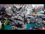 Custom Demon figurine sculpt -Уезжаю в Кисловодск На 10дней- Вопросы, Общение, музыка!