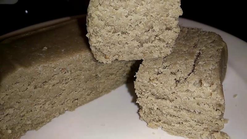 Халва из двух ингредиентов, без сахара, без муки, без глютена