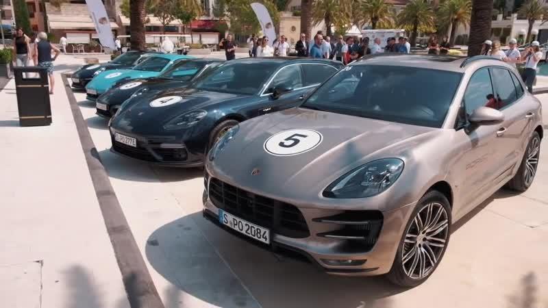 Porsche Road Tour Montenegro 2018