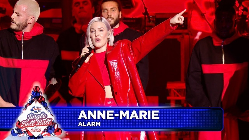 Anne-Marie - 'Alarm' (Live at Capital's Jingle Bell Ball 2018)