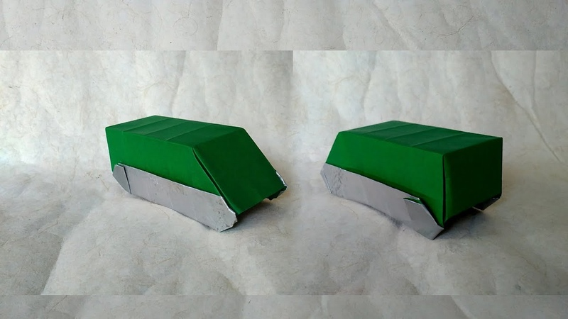How to Make Origami Armoured Personnel Carrier (Hadi Tahir)