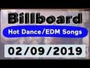 Billboard Top 50 Hot Dance/Electronic/EDM Songs (February 9, 2019)