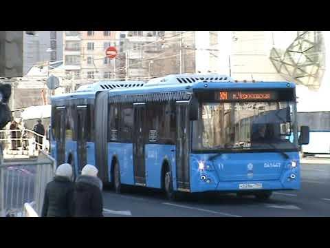 Закрытие на Сокльнический линии №КМ на Автобусе Лиаз-6213