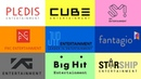 Biggest Richest K-Pop Labels | RANKING 2018 | Which is your favourite?