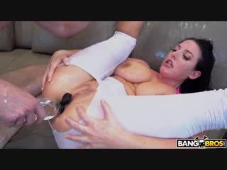 Angela white – huge tits squirt during anal [bangbros. hd1080, anal, big ass, big tits, squirt]
