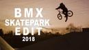 BMX - Robin Kachfi x Skatepark Mannheim 2018 insidebmx
