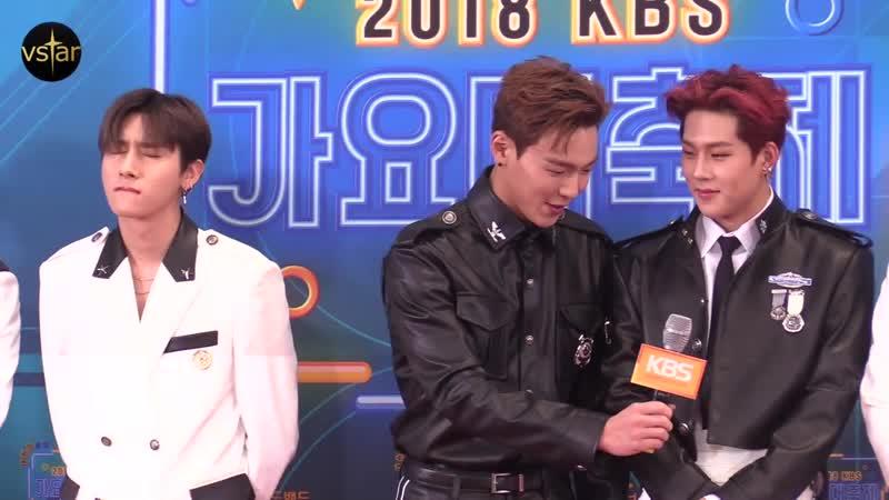 [VK][28.12.18] Red Carpet at KBS Gayo Daechukje 2018 @ Vstar