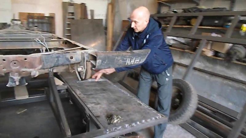 Дополнительное производство Гусениц ТСН 74 приехал познакомиться.