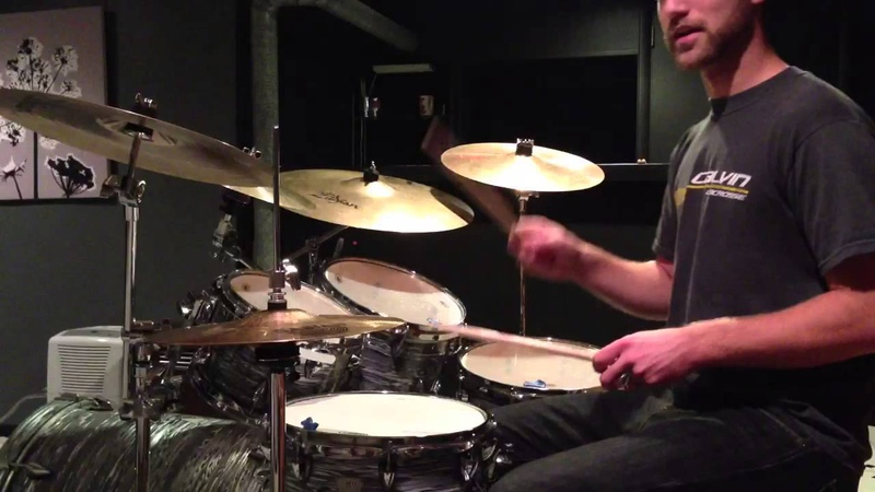 Ghost notes on the snare drum