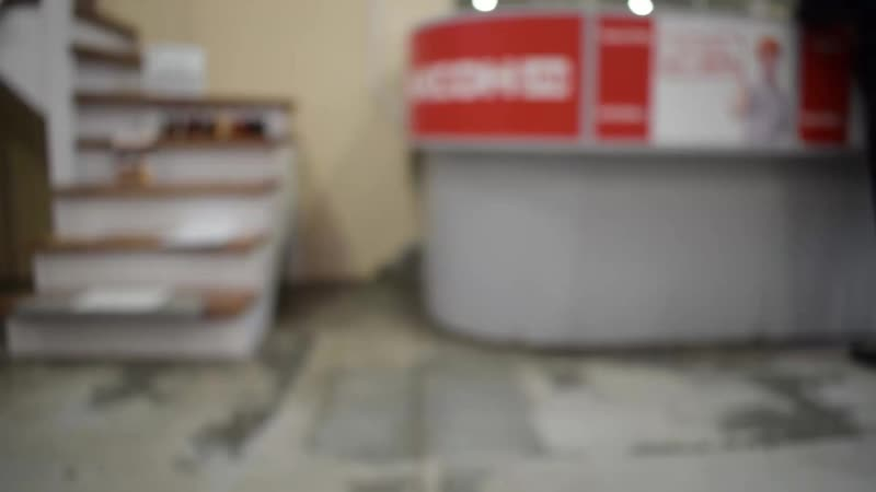 Лестница на металлокаркасе в магазине лестниц Горница Ярославль