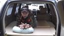 Просто спальник органайзер в Toyota Land Cruiser Prado120