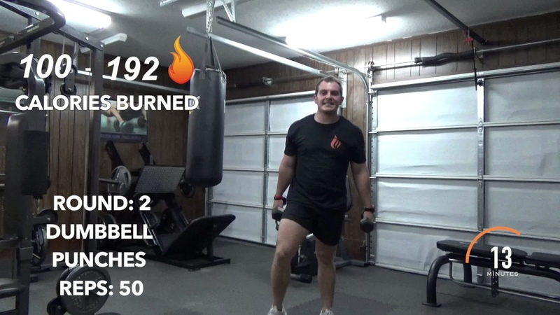 20 Minute Full Body Workout Dumbbell And Kettlebell AMRAP Fuel Fitness Training