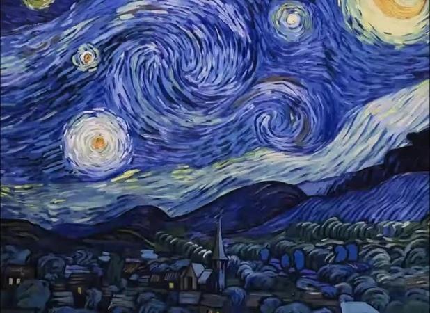 Van Gogh [ Yann Tiersen - Comptine d'un autre été ]