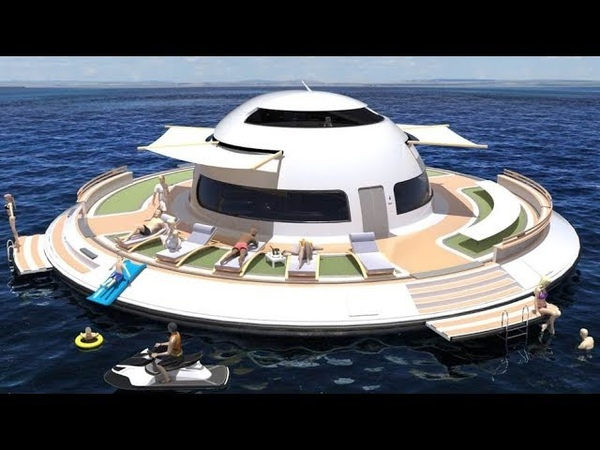 Floating UFO Home Jet Capsule