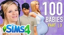 Single Girl Tries The 100-Baby Challenge In The Sims 4   Part 3