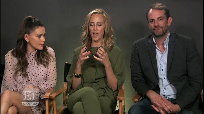 Интервью Алиссы Милано о фильме 'Tempting Fate' для ET Canada.