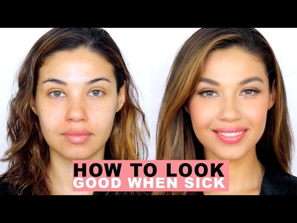 How to Look Good When You're Sick! | Natural Makeup | Eman