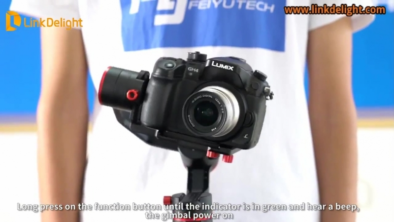FeiyuTech A1000 3-Axis Handled Stabilizer for Micro-SLR Cameras- Linkdelight.com