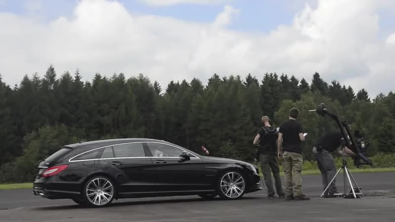 Filming BRABUS B50 Shooting Brake with Ajoneuvos from Finnland 04 07 2013 @ Flug