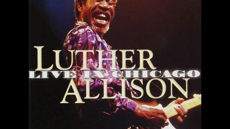 Luther Allison - Cherry Red Wine (live)