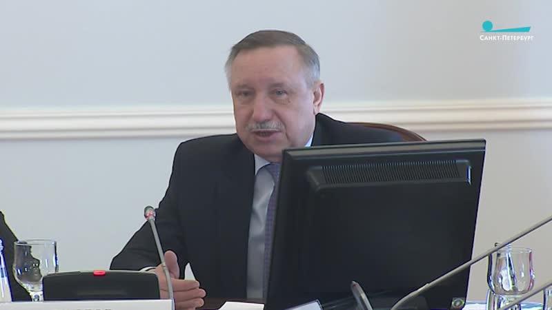 Александр Беглов посоветовал председателям избиркомов посетить бункер Жданова