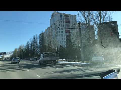Бишкек. По бетонке вверх от Асамбая