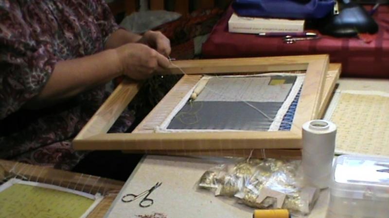 Золотное шитьё. Урок 3.1
