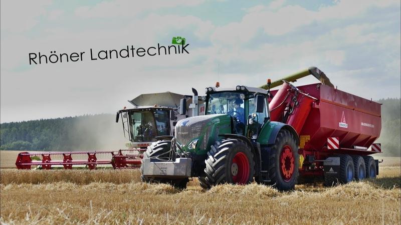 Big Harvest | 3x Claas Lexion | 7x Fendt | Raps Weizenernte 2018