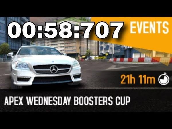 Asphalt 8-APEX WEDNESDAY BOOSTERS CUP-OCEANVIEW DERBY-Mercedes-Benz SLK 55 AMG 00:58:707
