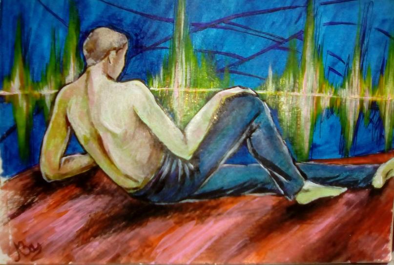 Гениальная Любовь Завьялова.)( Картины WhavJdQUGZU