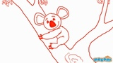 How to Draw a Koala - Step By Step Drawing for Kids Educational Videos by Mocomi