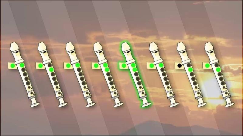 Imagine (John Lennon) for Recorder / Flauta Doce - Tutorial (with notes)