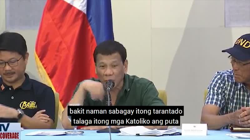 President Duterte speech in Isabela.